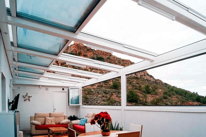 Cerrar tu terraza